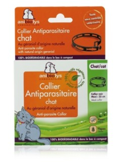 Collier antiparasitaire Chat +12 mois