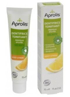 Dentifrice tonifiant Bio propolis - Goût citron