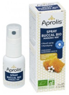 Spray buccal bio Manuka 400