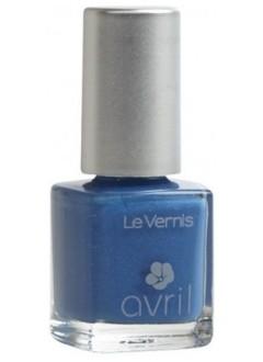 Vernis à ongles Bleu Azur pailleté N°73