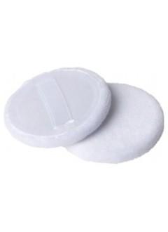 Houpettes rondes à maquillage en coton