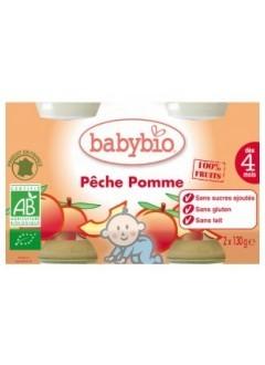 Petits Pots Fruits Pêche Bio - Babybio