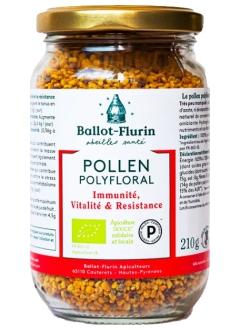 Pollen Polyfloral dynamisé Bio