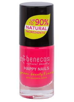 Vernis à ongles rose groseille flashy (oh lala!)