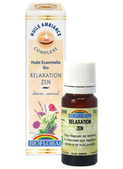 Huile d'ambiance Relaxation Zen bio