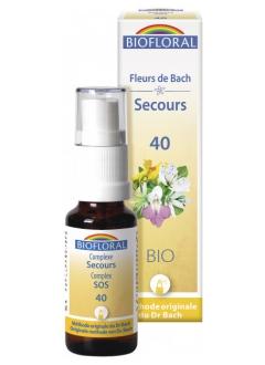 Remède secours spray (rescue) 40