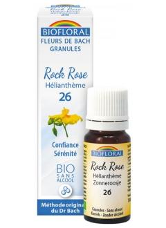 Fleur de Bach Hélianthème (rock rose) N°26 granules