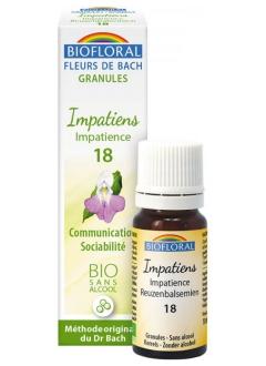 Fleur de Bach Impatience (impatiens) N°18 granules