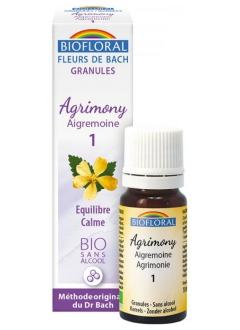 Fleur de Bach Aigremoine (Agrimony) N°1 granules