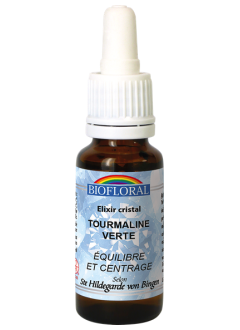 Elixir de Cristal Tourmaline Verte BIO