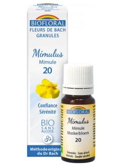 Fleur de Bach Mimule (Mimulus) N°20 granules
