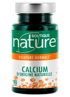 Calcium d'origine naturelle
