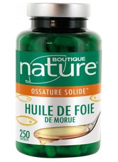 Huile Foie de Morue - 250 capsules