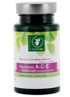Vitamines A-C-E + Sélénium