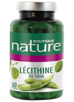 Lécithine de Soja capsules - 60 capsules