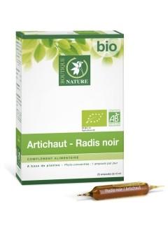 Artichaut Bio - Radis Noir Bio - Ampoules