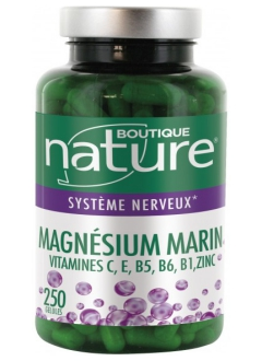 Magnésium marin 250 gélules