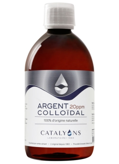 Argent colloïdal 20ppm - 500 ml