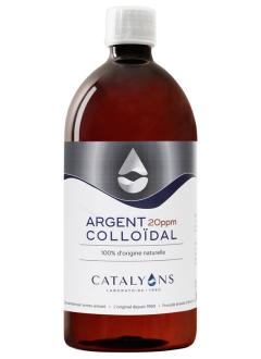 Argent colloïdal 20ppm - 1 Litre