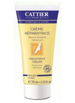 Crème réparatrice pieds secs