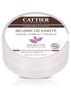 Beurre de karité bio parfum fleurs des îles