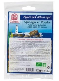 Agar-Agar Bio Poudre - 6 x 2g