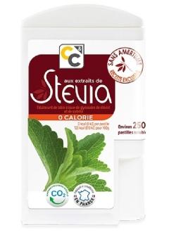 Extrait de stévia - 250 pastilles