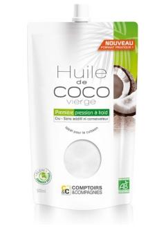 Huile de coco vierge bio - 500 ml