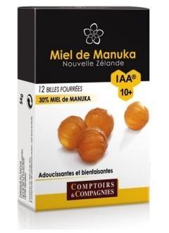 Billes fourrées 30% miel de manuka