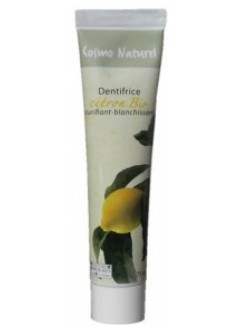 Dentifrice blanchissant citron Bio