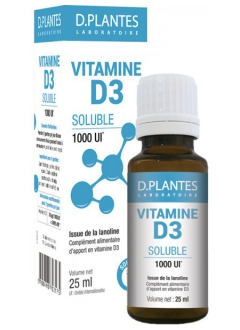 Vitamine D3 1000 UI Soluble