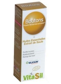 Boutons acné