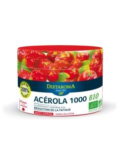 Acérola 1000 Bio Goût Cerise Format Eco