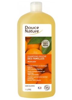 Shampooing douche des familles Médicago sans sulfates