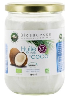 Huile de noix de coco Bio - 500 ml