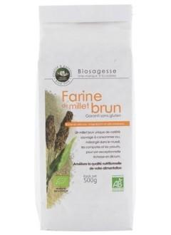 Farine de millet brun bio sans gluten