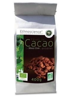 Fèves de cacao bio entières - 400 g