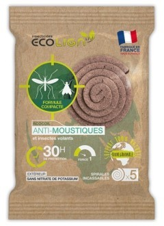 Spirales Anti moustiques - 30 Heures