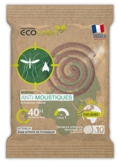 Spirales Anti moustiques - 40 heures
