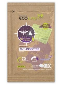 Feuilles à brûler anti-moustiques