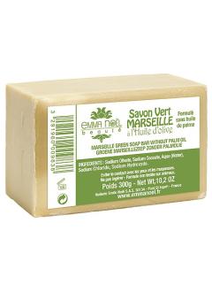 Savon Vert Marseille - Sans huile de palme