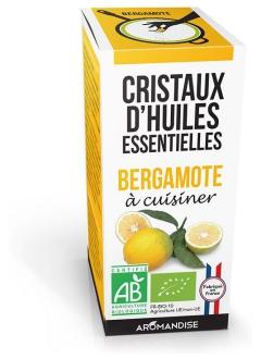 Bergamote bio - Cristaux à cuisiner