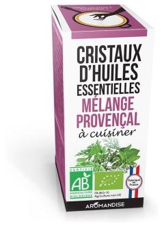 Mélange Provençal bio - Cristaux d'huiles essentielle à cuisiner