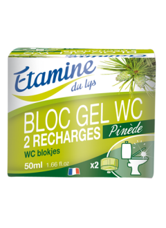Recharges bloc gel WC x 2