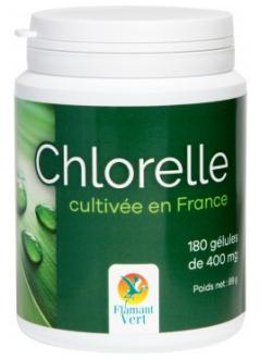 Chlorelle 400 mg - 180 gélules