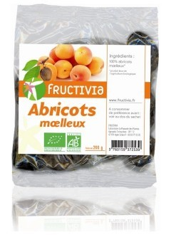 Abricots moelleux dénoyautés BIO