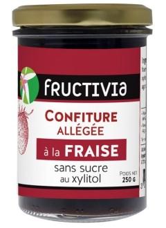 Confiture à la fraise sans sucre (au xylitol)
