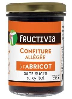 Confiture à l'abricot sans sucre (au xylitol)
