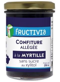 Confiture à la myrtille sans sucre (au xylitol)