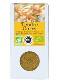 Fleurs d'épices Tendre Curry Bio
